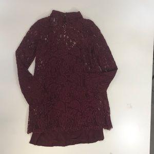 Wishlist Dresses - Wishlist Keyhole Mini Dress